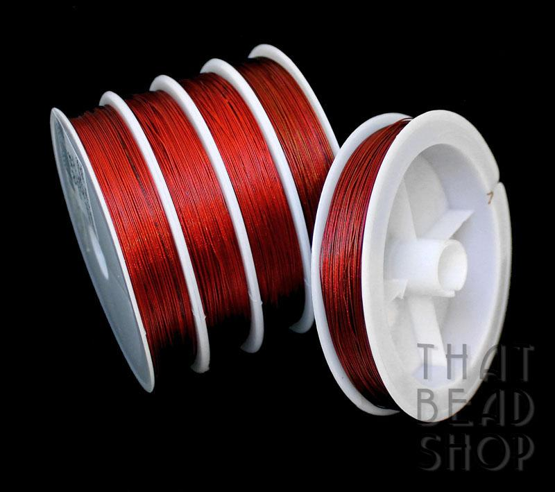 Red Tiger Tail 0.38mm 100m