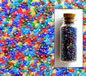 Transparent Lustered Royal Mixed Size 11-0 Seed Beads