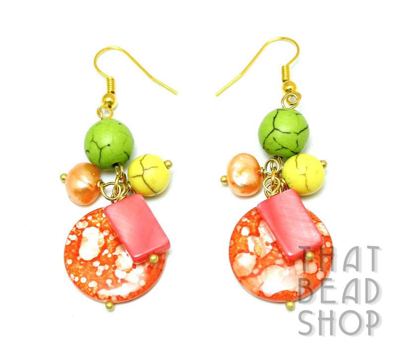 Dash Of Citrus Earrings