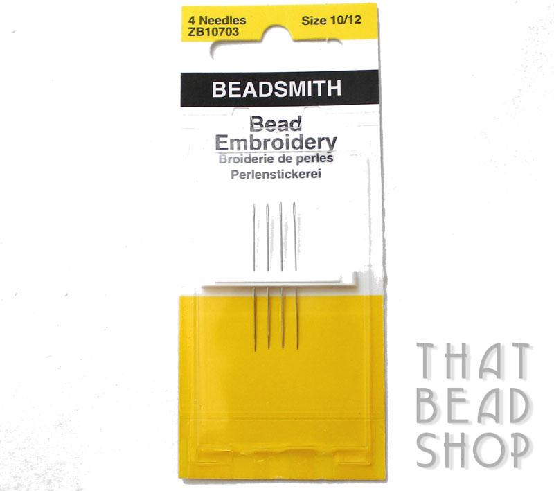 Bead Embroidery Needles - 4 Pack