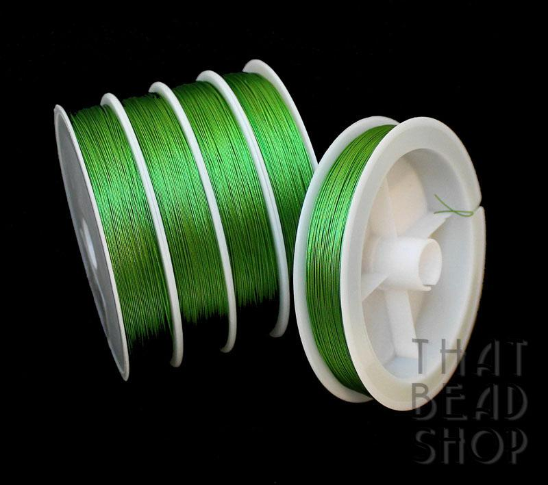 Grass Green Tiger Tail 0.38mm - 100m